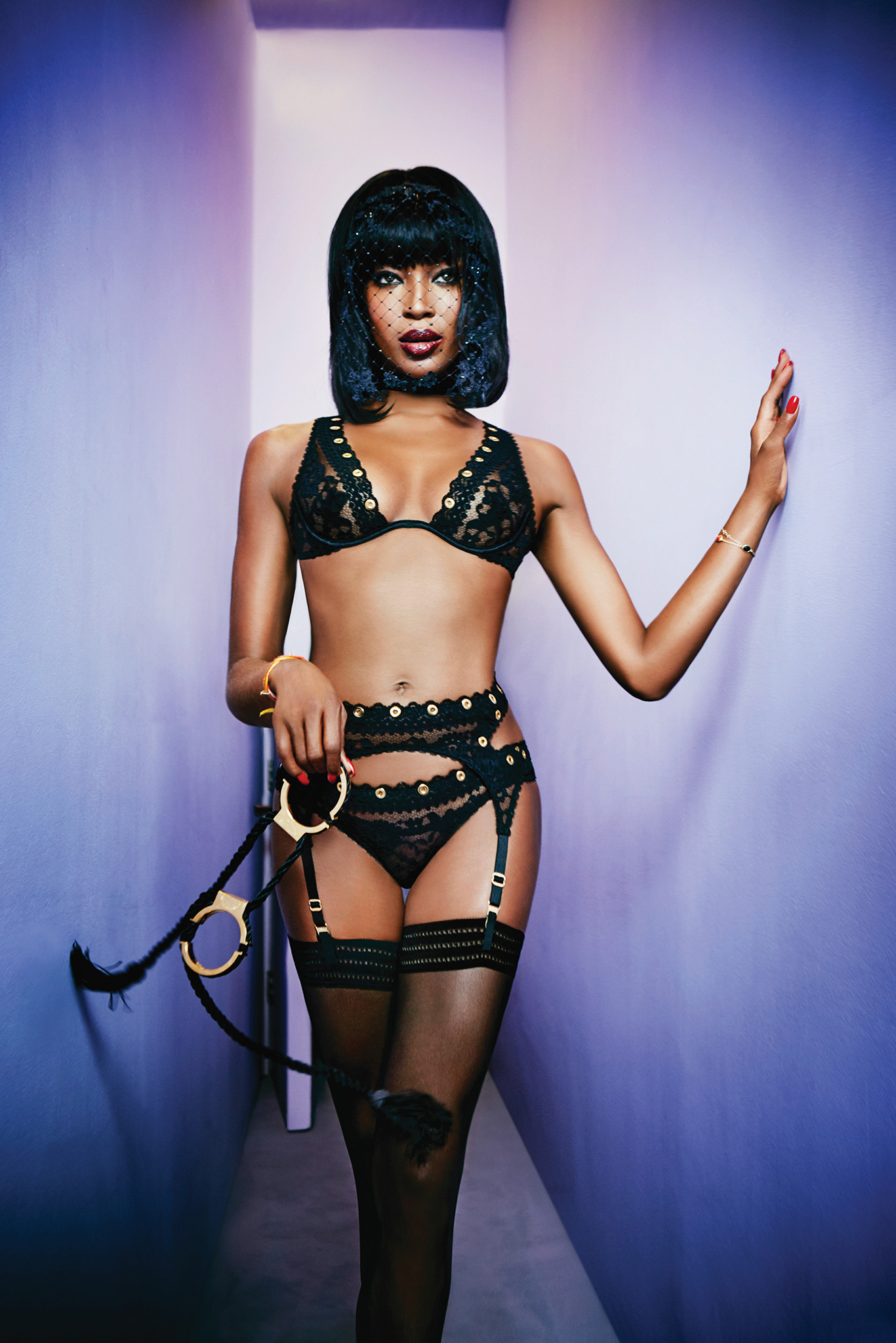 The Face of Agent Provocateur: Naomi Campbell