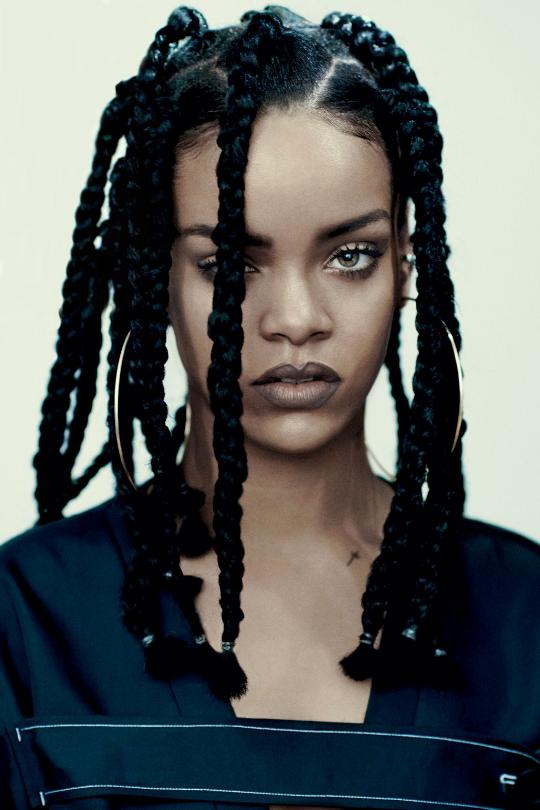 The Iconic Rihanna For I-D Magazine